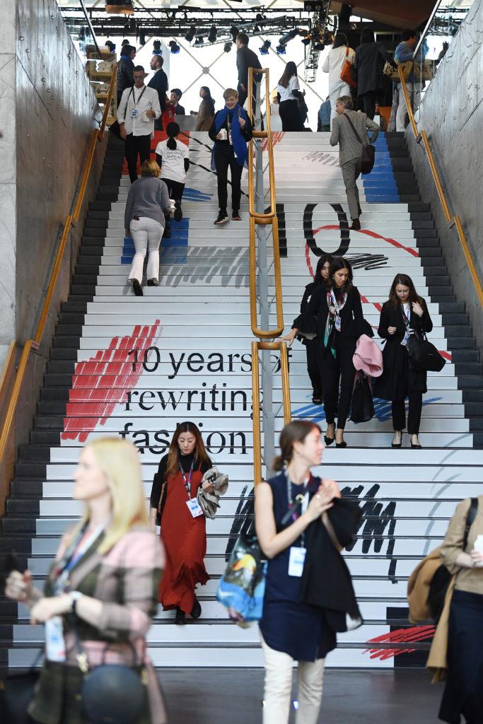 Imagen de los asistentes del Copenhagen Fashion Summit.